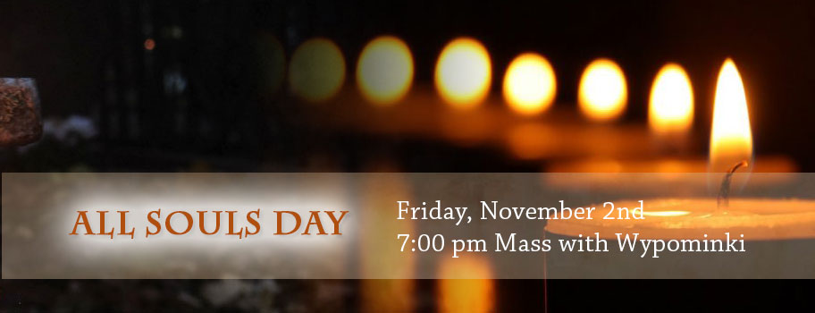 All Souls Day - Nov. 2